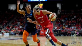Delle Donne leads Mystics to 95-86 Game 1 win over Sun
