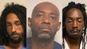 Suspects arrested minutes after Prince George's Co bank robbery, police say