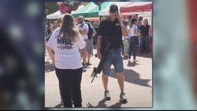 Open carry display at Old Town Alexandria farmer's market triggers outrage
