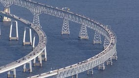 Permanent lane closures begin on Chesapeake Bay Bridge