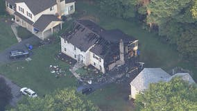 Firefighter injured in Montgomery County house fire; estimated $1 million in damage
