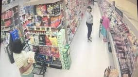 Suspects work together to steal wallet from elderly woman at store
