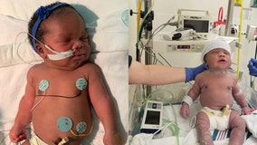 'Rare but very special': Baby born on September 11 at 9:11 p.m. weighing 9 pounds, 11 ounces