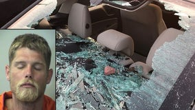 Florida man smashes car windows, says 'I did it because Donald Trump owes me 1 trillion dollars'