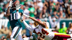 Redskins blow 17-point lead, lose season opener at Philadelphia