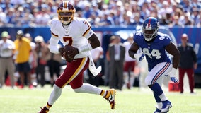 Dwayne Haskins throws 3 picks in regular-season debut; Redskins drop to 0-4