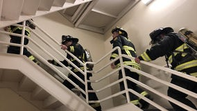 Orlando firefighters climb 110 flights of stairs to honor those lost in the 9/11 attacks