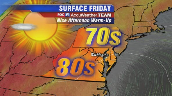 Chilly start before warm and sunny afternoon Friday; weekend heats up before start of fall