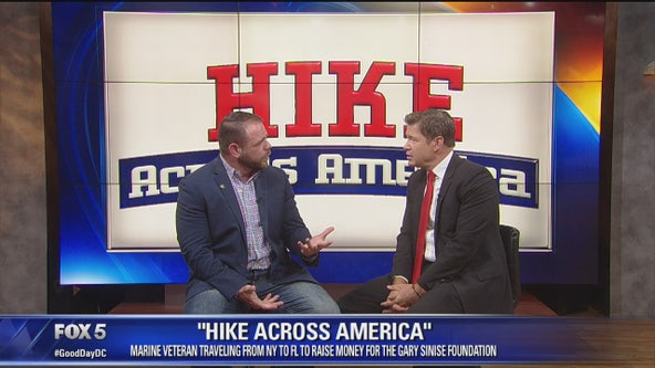 "TShane Johnson Discusses ""Hike Across America"""