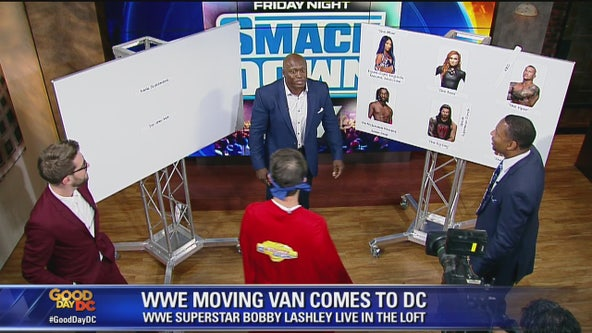 WWE star Bobby Lashley talks wresting knowledge with the FOX 5 gang!