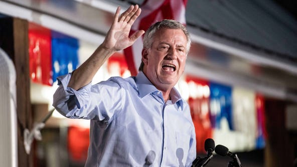 NYC Mayor Bill de Blasio drops out of presidential race