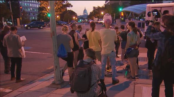 DC officials warn demonstrations may create traffic hassles today