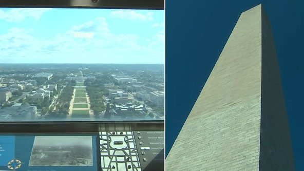 FOX 5 gets a look inside the Washington Monument ahead of reopening