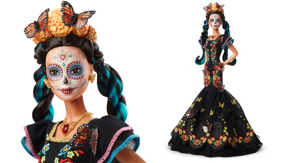 Mattel debuts 'Día de los Muertos' Barbie doll marking 'Day of the Dead'