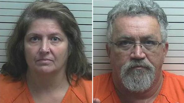 Foster couple each get more than 10 years in prison for 'horrific' child abuse caught on video