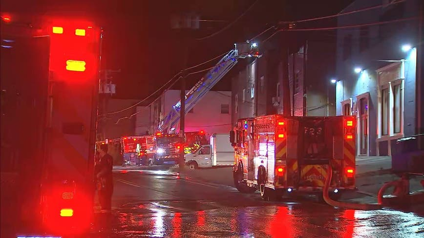 No injuries reported in early morning commercial building fire in Montgomery County
