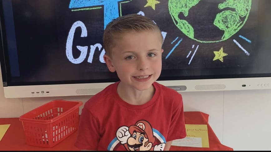 Surprise celebration for Virginia boy with autism after no one shows up for birthday party