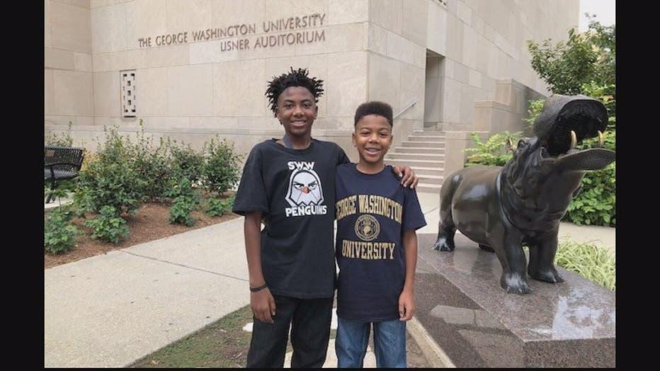 14-year-old starts freshman year at George Washington