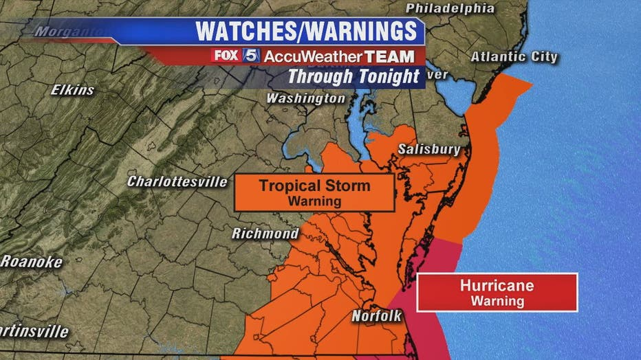 Here's what to expect from Hurricane Dorian in DC, Maryland