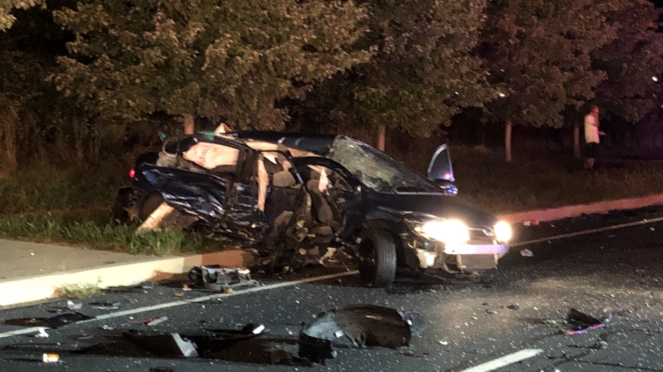 Man killed in Georgia Ave  crash near ICC in Montgomery