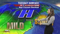 Plenty of sun, cool temps Tuesday; much-needed rain expected Wednesday