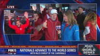 Nats advance to the World Series