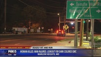 Woman killed, man injured in deadly Prince George's County hit-and-run