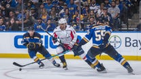 Vrana scores in OT, Capitals beat Blues 3-2 in opener