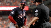Washington Nationals' Davey Martinez snubbed for NL Manager of the Year