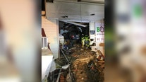 Man airlifted to hospital after driving through Anne Arundel market