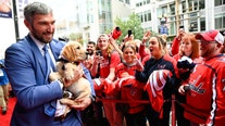 Washington Capitals debut new team dog: Captain