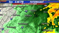 Sunday soaker: Rain to persist through the afternoon