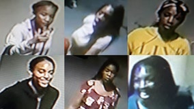 Surveillance video shows 6 suspects assaulting teens in Montgomery County mall bathroom, police say