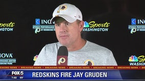 Redskins fire head coach Jay Gruden