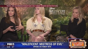 Angelina Jolie and stars of Maleficent: Mistress of Evil