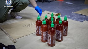 Australian police find $210M worth of meth hidden inside Sriracha bottles