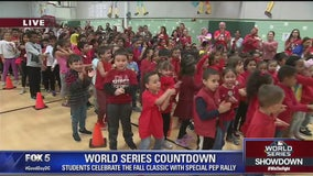 Glen Forest Elementary School celebrates World Series
