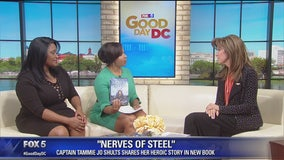 """Pilot Tammie Jo Shults discusses Southwest Airlines Flight 1380 in new book, """"Nerves of Steel"""""""