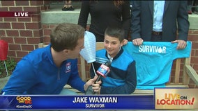 Cancer fighter Jake Waxman gearing up for Light the Night Walk with LLS to raise awareness