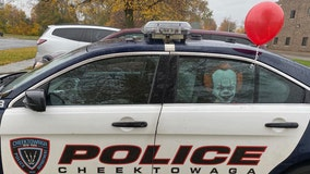 NY police say they've captured 'It' in Facebook post showing Pennywise the clown in back of cruiser