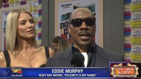 Eddie Murphy and stars of Dolemite is my Name