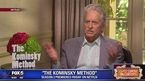 Michael Douglas on season 2 of The Kominsky Method