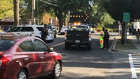 Child rushed to the hospital after being struck by a vehicle in DC