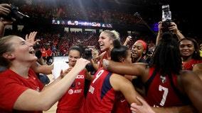 Washington Mystics hold celebration for fans following WNBA championship victory