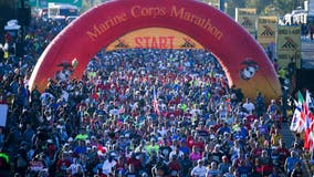 Road closures announced ahead of 44th annual Marine Corps Marathon