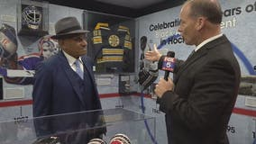 'Jackie Robinson of the NHL' to drop the puck at the Caps' game