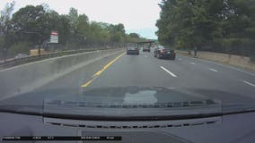 Video: Rideshare scooter spotted on I-66 in Northern Virginia