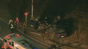 Authorities investigate crash in Brandywine