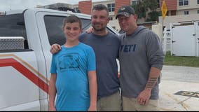 Prince William County police officer rescues father, son while on vacation