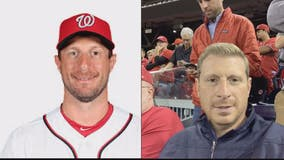 Max Scherzer look-alike turns heads ahead of Nationals' World Series run